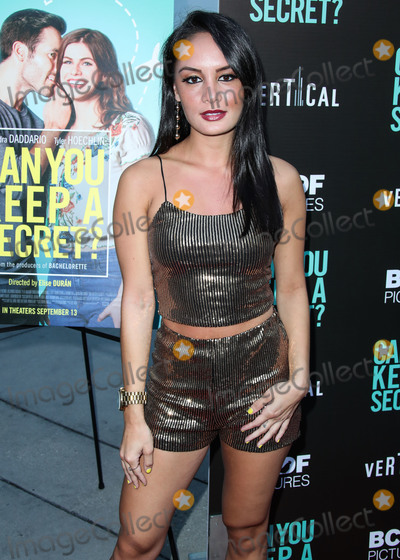 Alexis Joy Photo - HOLLYWOOD LOS ANGELES CALIFORNIA USA - AUGUST 28 Alexis Joy arrives at the Los Angeles Premiere Of Vertical Entertainments Can You Keep A Secret held at ArcLight Cinemas Hollywood on August 28 2019 in Hollywood Los Angeles California United States (Photo by Xavier CollinImage Press Agency)