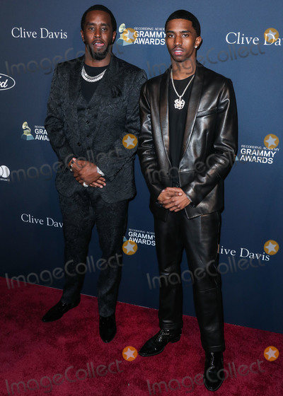 Diddy Combs Photo - BEVERLY HILLS LOS ANGELES CALIFORNIA USA - JANUARY 25 Sean Diddy Combs and Christian Casey Combs arrive at The Recording Academy And Clive Davis 2020 Pre-GRAMMY Gala held at The Beverly Hilton Hotel on January 25 2020 in Beverly Hills Los Angeles California United States (Photo by Xavier CollinImage Press Agency)