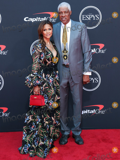 Julien Dor Photo - LOS ANGELES CALIFORNIA USA - JULY 10 Dorys Madden and Dr J (Julius Erving) arrive at the 2019 ESPY Awards held at Microsoft Theater LA Live on July 10 2019 in Los Angeles California United States (Photo by Xavier CollinImage Press Agency)