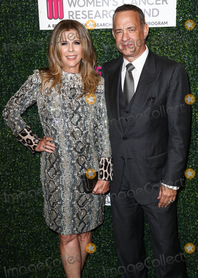 Four Seasons Photo - (FILE) Tom Hanks and Rita Wilson Test Positive for Coronavirus COVID-19 Tom Hanks and Rita Wilson have announced on Wednesday March 11 2020 that they have tested positive for COVID-19 (Coronavirus) the first celebrities to go public with a diagnosis BEVERLY HILLS LOS ANGELES CALIFORNIA USA - FEBRUARY 16 Actress Rita Wilson and husbandactor Tom Hanks wearing Tom Ford arrive at The Womens Cancer Research Funds An Unforgettable Evening 2017 held at the Beverly Wilshire Four Seasons Hotel on February 16 2017 in Beverly Hills Los Angeles California United States (Photo by Xavier CollinImage Press Agency)