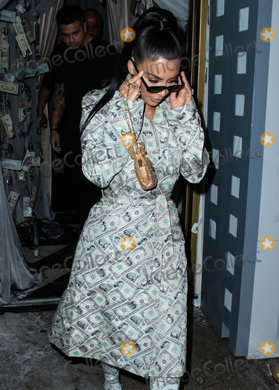Anastasia Karanikolaou Photo - WEST HOLLYWOOD LOS ANGELES CA USA - SEPTEMBER 27 Kim Kardashian West seen arriving at the Anastasia Karanikolaou Cosmetics Launch held at Delilah on September 27 2018 in West Hollywood Los Angeles California United States (Photo by Image Press Agency)