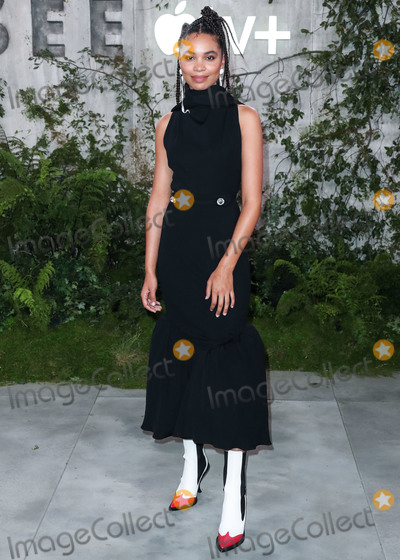 Nesta Cooper Photo - WESTWOOD LOS ANGELES CALIFORNIA USA - OCTOBER 21 Actress Nesta Cooper wearing Christopher Kane arrives at the World Premiere Of Apple TVs See held at the Fox Village Theater on October 21 2019 in Westwood Los Angeles California United States (Photo by Xavier CollinImage Press Agency)