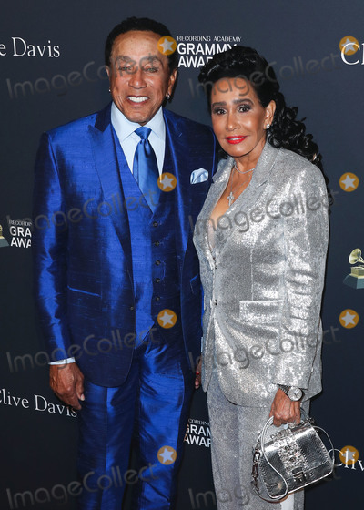 Smokey Robinson Photo - BEVERLY HILLS LOS ANGELES CALIFORNIA USA - JANUARY 25 Smokey Robinson and Frances Glandney arrive at The Recording Academy And Clive Davis 2020 Pre-GRAMMY Gala held at The Beverly Hilton Hotel on January 25 2020 in Beverly Hills Los Angeles California United States (Photo by Xavier CollinImage Press Agency)