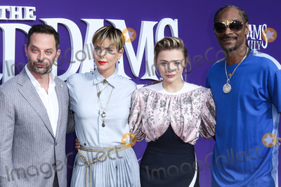 Chloe Grace Moretz Photo - CENTURY CITY LOS ANGELES CALIFORNIA USA - OCTOBER 06 Nick Kroll Charlize Theron Chloe Grace Moretz and Snoop Dogg arrive at the World Premiere Of MGMs The Addams Family held at the Westfield Century City AMC on October 6 2019 in Century City Los Angeles California United States (Photo by Xavier CollinImage Press Agency)