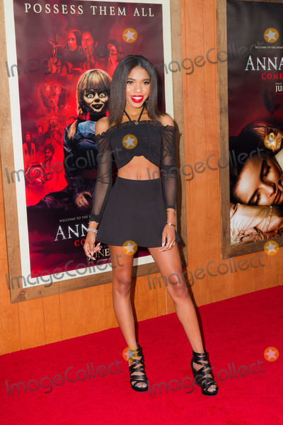 Teala Dunn Photo - WESTWOOD LOS ANGELES CALIFORNIA USA - JUNE 20 Teala Dunn arrives at the Los Angeles Premiere Of Warner Bros Annabelle Comes Home held at Regency Village Theatre on June 20 2019 in Westwood Los Angeles California United States (Photo by Rudy TorresImage Press Agency)