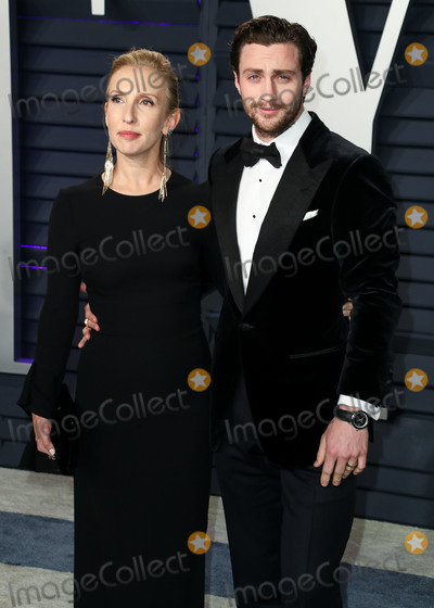 Aaron Taylor-Johnson Photo - BEVERLY HILLS LOS ANGELES CA USA - FEBRUARY 24 Sam Taylor-Johnson and Aaron Taylor-Johnson arrive at the 2019 Vanity Fair Oscar Party held at the Wallis Annenberg Center for the Performing Arts on February 24 2019 in Beverly Hills Los Angeles California United States (Photo by Xavier CollinImage Press Agency)