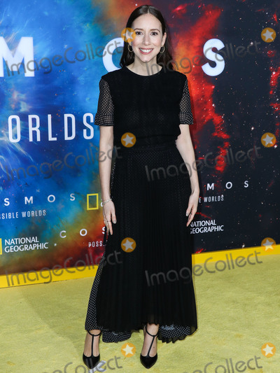 Sasha Photo - WESTWOOD LOS ANGELES CALIFORNIA USA - FEBRUARY 26 Producer Sasha Sagan arrives at the Los Angeles Premiere Of National Geographics Cosmos Possible Worlds held at Royce Hall at the University of California Los Angeles (UCLA) on February 26 2020 in Westwood Los Angeles California United States (Photo by Xavier CollinImage Press Agency)