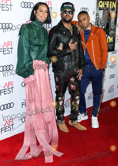 The Dream Photo - HOLLYWOOD LOS ANGELES CALIFORNIA USA - NOVEMBER 14 Melina Matsoukas The-Dream and Lena Waithe arrive at the AFI FEST 2019 - Opening Night Gala - Premiere Of Universal Pictures Queen And Slim held at the TCL Chinese Theatre IMAX on November 14 2019 in Hollywood Los Angeles California United States (Photo by Xavier CollinImage Press Agency)