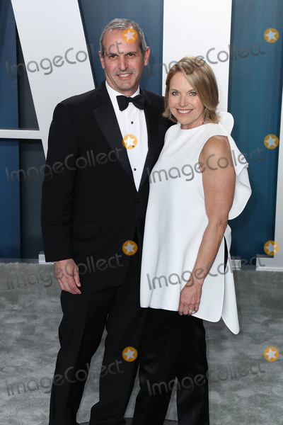 Katie Couric Photo - BEVERLY HILLS LOS ANGELES CALIFORNIA USA - FEBRUARY 09 John Molner and Katie Couric arrive at the 2020 Vanity Fair Oscar Party held at the Wallis Annenberg Center for the Performing Arts on February 9 2020 in Beverly Hills Los Angeles California United States (Photo by Xavier CollinImage Press Agency)