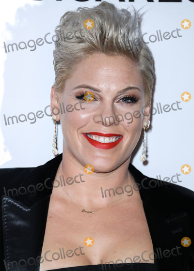 Alecia Beth Moore Photo - (FILE) Pink Reveals She Tested Positive For Coronavirus COVID-19 But Is Now Negative And Donates 1 Million To Fight Pandemic She stated she was donating 1 million - 500000 each to the Temple University Hospital Emergency Fund and the City of Los Angeles Mayors Emergency COVID-19 Crisis Fund LOS ANGELES CALIFORNIA USA - FEBRUARY 08 Singer Pnk (Pink Alecia Beth Moore) arrives at the 2019 MusiCares Person Of The Year Honoring Dolly Parton held at the Los Angeles Convention Center on February 8 2019 in Los Angeles California United States (Photo by Xavier CollinImage Press Agency)