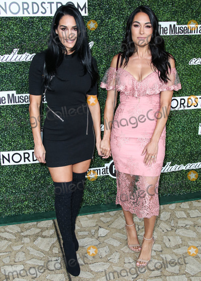 Brie Bella Photo - MANHATTAN NEW YORK CITY NEW YORK USA - SEPTEMBER 04 American professional wrestlers Brie Bella and Nikki Bella of The Bella Twins arrive at the 2019 Couture Council Luncheon Honoring Christian Louboutin held at the David H Koch Theater at the Lincoln Center on September 4 2019 in Manhattan New York City New York United States (Photo by Xavier CollinImage Press Agency)