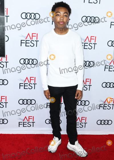 Asante Blackk Photo - HOLLYWOOD LOS ANGELES CALIFORNIA USA - NOVEMBER 14 Asante Blackk arrives at the AFI FEST 2019 - Opening Night Gala - Premiere Of Universal Pictures Queen And Slim held at the TCL Chinese Theatre IMAX on November 14 2019 in Hollywood Los Angeles California United States (Photo by Xavier CollinImage Press Agency)