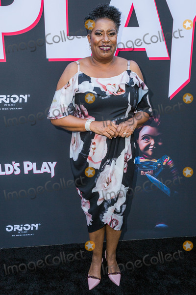 CARLEASE BURKE Photo - HOLLYWOOD LOS ANGELES CALIFORNIA USA - JUNE 19 Carlease Burke arrives at the Los Angeles Premiere Of Orion Pictures And United Artists Releasings Childs Play held at ArcLight Hollywood on June 19 2019 in Hollywood Los Angeles California United States (Photo by Rudy TorresImage Press Agency)