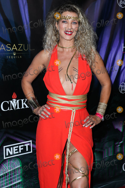 Amber Smith Photo - WOODLAND HILLS LOS ANGELES CALIFORNIA USA - OCTOBER 19 Actress Amber Smith arrives at Karma Internationals 2019 Kandy Halloween Party on October 19 2019 in Woodland Hills Los Angeles California United States (Photo by Xavier CollinImage Press Agency)
