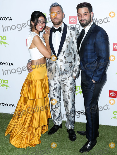 Emmanuelle Chriqui Photo - PACIFIC PALISADES LOS ANGELES CALIFORNIA USA - SEPTEMBER 28 Emmanuelle Chriqui Lance Bass and Michael Turchin arrive at the 2nd Annual Environmental Media Association Honors Benefit Gala held at a Private Residence on September 28 2019 in Pacific Palisades Los Angeles California United States (Photo by Xavier CollinImage Press Agency)