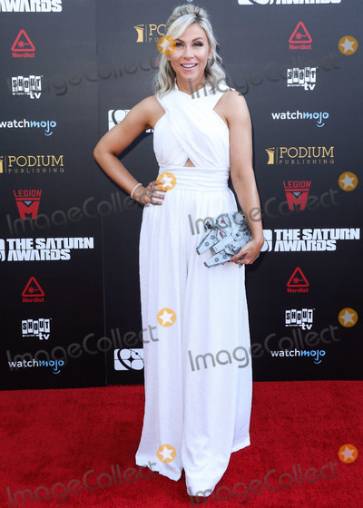 Ashley Eckstein Photo - HOLLYWOOD LOS ANGELES CALIFORNIA USA - SEPTEMBER 13 Ashley Eckstein arrives at the 45th Annual Saturn Awards held at Avalon Hollywood on September 13 2019 in Hollywood Los Angeles California United States (Photo by David AcostaImage Press Agency)
