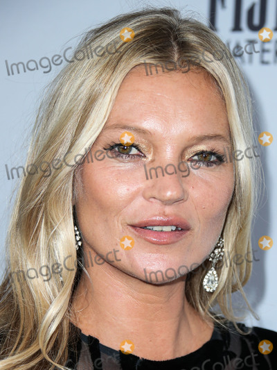 Kate Moss Photo - MANHATTAN NEW YORK CITY NEW YORK USA - SEPTEMBER 05 Model Kate Moss wearing Vintage Halston arrives at Daily Front Rows 2019 Fashion Media Awards held at The Rainbow Room at the Rockefeller Center on September 5 2019 in Manhattan New York City New York United States (Photo by Xavier CollinImage Press Agency)