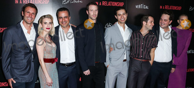 Andres Icaza Photo - WEST HOLLYWOOD LOS ANGELES CA USA - OCTOBER 30 Sam Boyd Emma Roberts Dree Hemingway Michael Angarano Andres Icaza Sergio Cortez Jorge Garcia at the Los Angeles Premiere Of Vertical Entertainments In A Relationship held at The London West Hollywood Screening Room on October 30 2018 in West Hollywood Los Angeles California United States (Photo by Xavier CollinImage Press Agency)