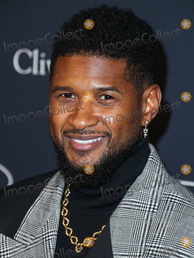 Usher Photo - BEVERLY HILLS LOS ANGELES CALIFORNIA USA - JANUARY 25 Usher arrives at The Recording Academy And Clive Davis 2020 Pre-GRAMMY Gala held at The Beverly Hilton Hotel on January 25 2020 in Beverly Hills Los Angeles California United States (Photo by Xavier CollinImage Press Agency)