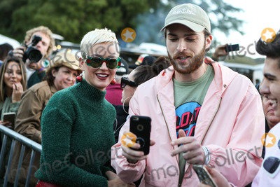 Katie Perry Photo - CALABASAS LOS ANGELES CA USA - DECEMBER 02 Singer Katy Perry poses with fans at the One Love Malibu Festival Benefit Concert For Woolsey Fire Recovery held at the King Gillette Ranch on December 2 2018 in Calabasas Los Angeles California United States (Photo by Xavier CollinImage Press Agency)