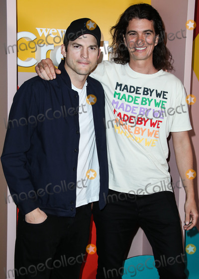 Ashton Kutcher Photo - LOS ANGELES CA USA - JANUARY 09 Actor Ashton Kutcher and Adam Neumann arrive at the WeWork Creator Awards Global Finals 2019 held at Microsoft Theatre LA Live on January 9 2019 in Los Angeles California United States (Photo by Xavier CollinImage Press Agency)