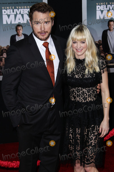 Anna Faris Photo - (FILE) Chris Pratt and Anna Faris Divorce Settlement Details Revealed The details of the divorce settlement between Chris Pratt and Anna Faris are coming to light The two who obtained a private judge to work out the deal reportedly signed off on the deal on Wednesday (November 7 2018) according to TMZ According to the documents they have agreed to live no more than five miles apart for about the next five years This deal was made so that the two parents stay in place until their six-year-old son Jack completes the sixth grade HOLLYWOOD LOS ANGELES CA USA - NOVEMBER 03 Actors Chris Pratt and Anna Faris (wearing a Dolce and Gabbana dress Christian Louboutin shoes and Irene Neuwirth jewels) arrive at the Los Angeles Premiere Of DreamWorks Pictures Delivery Man held at the El Capitan Theatre on November 3 2013 in Hollywood Los Angeles California United States (Photo by Xavier CollinImage Press Agency)