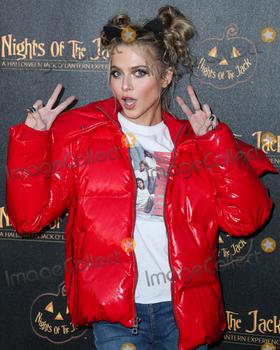 Anne Winters Photo - CALABASAS LOS ANGELES CALIFORNIA USA - OCTOBER 02 Anne Winters arrives at Nights of the Jack Friends and Family Night 2019 held at King Gillette Ranch on October 2 2019 in Calabasas Los Angeles California United States (Photo by Xavier CollinImage Press Agency)