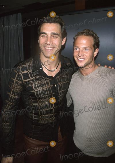 Adrian Paul Photo -  Tracker Premiere Party 360 Restaurant Hollywood CA 10182001 Adrian Paul and Stan Kirsch Photo by Milan RybaGlobe Photosinc