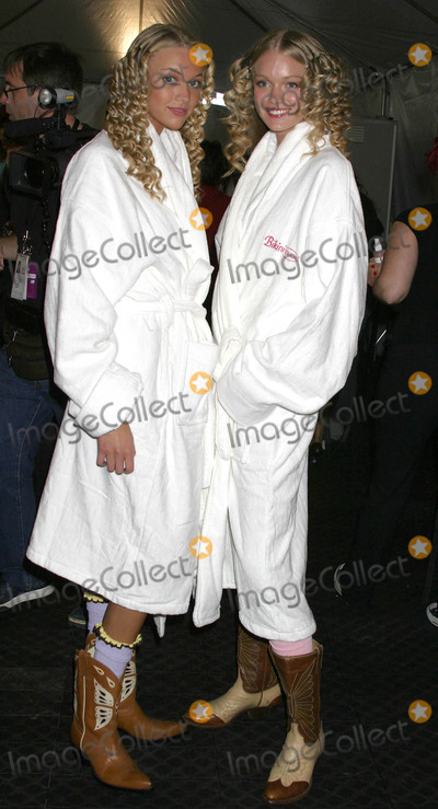 Ashley Paige Photo - Backstage at the Ashley Paige Springsummer Collection Show -Mercedes Benz Spring 2005 Fashion Week Smashbox Studios Culver City CA 10272004 Photo by Clinton H WallaceipolGlobe Photos Inc 2004 Models