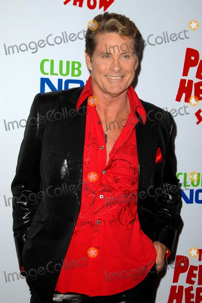 Pee-wee Herman Photo - David Hasselhoff attends Opening Night Red Carpet of the pee-wee Herman Show Held at the Nokia Theatre in Los Angeles CA 01-20-10 Photo by D Long- Globe Photos Inc 2009