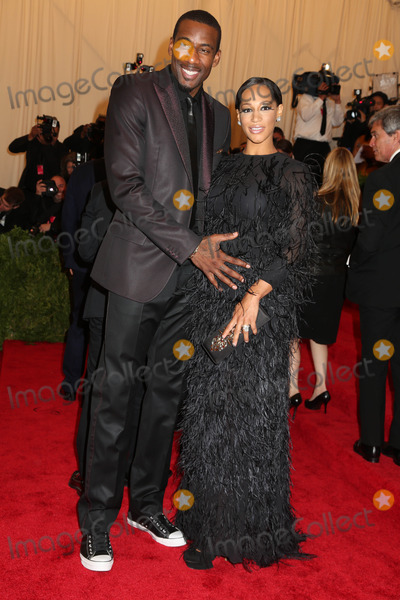 Amare Stoudemire Photo - The Metropolitan Museum of Art Costume Institute Gala Celebrating the Exhibition punkchaos to Couture the Metropolitan Museum of Art NYC May 6 2013 Photos by Sonia Moskowitz Globe Photos 2013 Amare Stoudemire