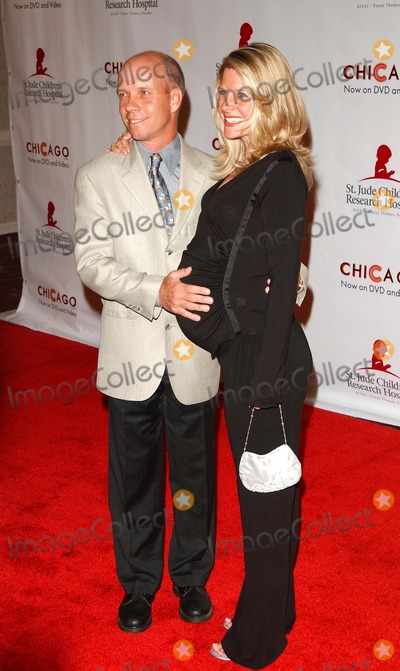 Scott Hamilton Photo - - 2nd Annual Runway For Life Celebrity Fashion Show - Benefiting St Jude Childrens Research Hospital - Beverly Hilton Beverly Hills CA - 08192003 - Photo by Fitzroy Barrett  Globe Photos Inc 2003 - Scott Hamilton and His Wife Tracey