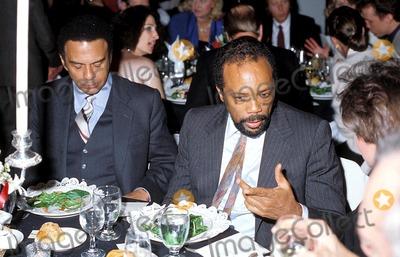 Andrew Young Photo - Quincy Jones and Andrew Young Photo Globe Photos Inc 1985 Quincyjonesretro