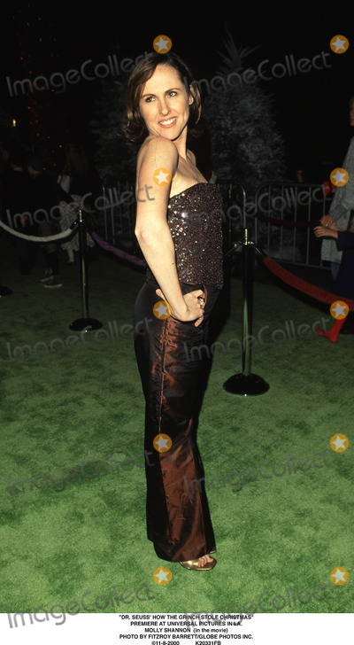 The Grinch Photo - Dr Seuss How the Grinch Stole Christmas Premiere at Universal Pictures in LA Molly Shannon (in the Movie) Photo by Fitzroy BarrettGlobe Photos Inc 11-8-2000