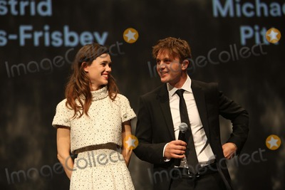 Astrid Berges-Frisbey Photo - Actors Astrid Berges-frisbey and Michael Pitt Attend the Opening Ceremony of the 49th Karlovy Vary International Film Festival at Hotel Thermal in Karlovy Vary Czech Republic on 04 July 2014 Photo Alec Michael