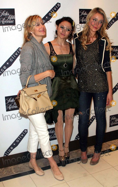 Alice  Olivia Photo - Alice  Olivia by Stacey Bendet Shop Opening at Saks 5th Avenue New York Saks 5th Avenue-nyc-03-18-2010 Kelly Rutherford Katrina Bowden and Stacey Bendet Photo by John B Zissel-ipolinc-Globe Photos Inc2010