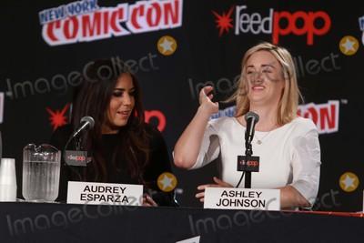 Audrey Esparza Photo - Audrey Esparzaasley Johnson attends the Blindspot Panel at Day 4 of NY Comic Con at Javits Center 10-11-2015 John BarrettGlobe Photos
