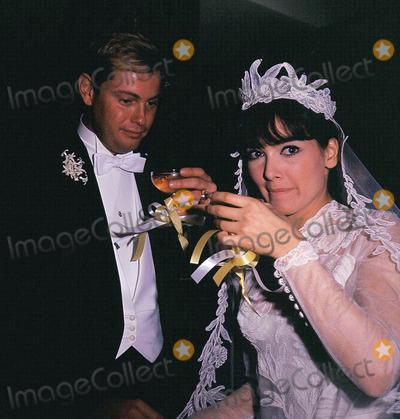 Troy Donahue Photo - Suzanne Pleshette Wedding to Troy Donahue 01-04-1964 Photo by Globe Photos
