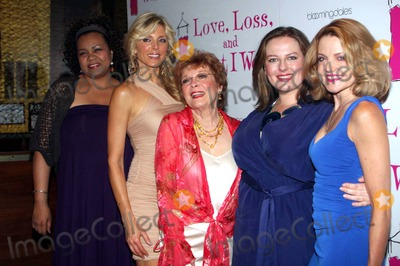 ANITA GILLETTE Photo - Marla Maples and Anita Gillette with Cast Marla Maples Opens in Love Loss and What I Wore Party at B Smiths Restaurant New York City 07-07-2011 photo by Barry Talesnick-ipol-globe Photos Inc