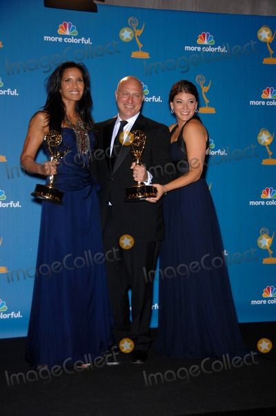 Tom Colicchio Photo - Padma Lakshmi Tom Colicchio and Gail Simmons During the 62nd Annual Primetime Emmy Awards Held at the Nokia Theatre on August 29 2010 in Los Angeles Photo Michael Germana - Globe Photos Inc 2010