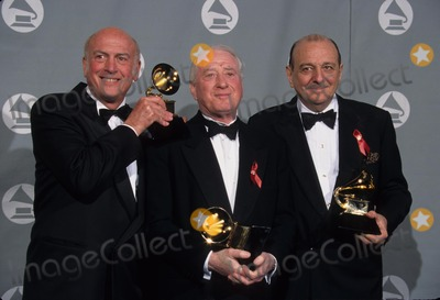 Arif Mardin Photo - Mike Stoller with Jerry Leiber and Arif Mardin at 1996 Grammy Awards Los Angeles Ca L4043lr Photo by Lisa Rose-Globe Photos Inc