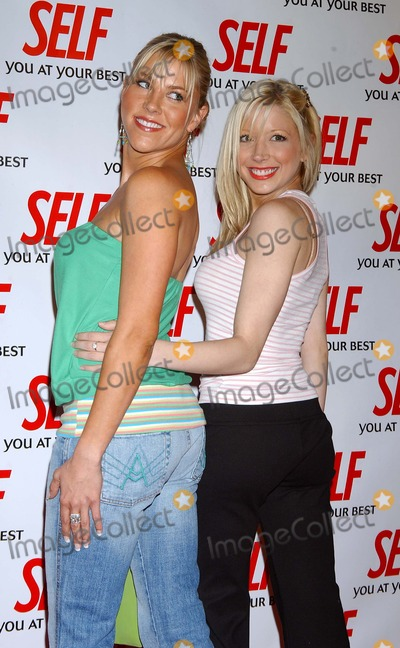 Candace Muzny Photo - Hollywood Gets Healthy with Self Magazine at Fred Segal Beauty Santa Monica California 04282004 Photo by Miranda ShenGlobe Photos Inc 2004 Candace Muzny and Courtney Peldon