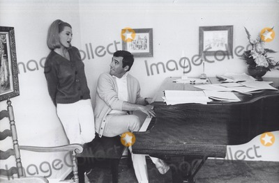 Burt Bacharach Photo - Angie Dickinson Burt Bacharach Photo by Orlando-Globe Photos Inc