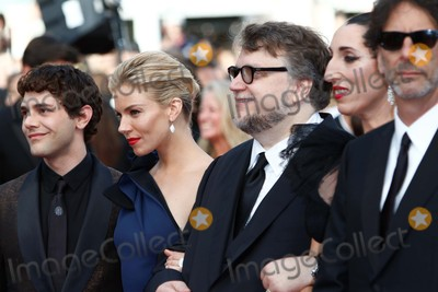 Xavier Dolan Photo - Jury Members Xavier Dolan (l-r) Sienna Miller Guillermo Del Torro Rossy De Palma and Joel Coen Attend the Premiere of Standing Tall During the Opening of the 68th Annual Cannes Film Festival at Palais Des Festivals in Cannes France on 13 May 2015 Photo Alec Michael