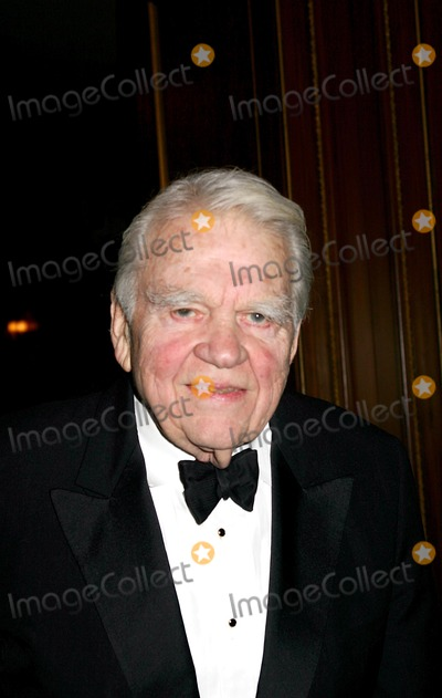 Andy Rooney Photo - the Writers Guild of America Annual Awards Ceremony Pierre Hotel New York City 02212004 Photo Mitchell Levy  Rangefinders  Globe Photos Inc 2004 Andy Rooney