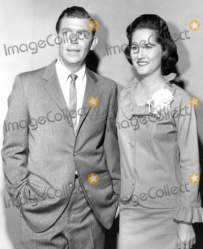 Andy Griffith Photo - Andy Griffith and Wife Photo by Smp-Globe Photos