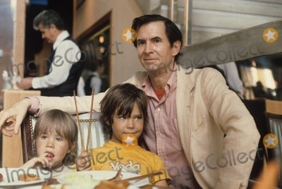 Anthony Perkins Photo - Anthony Perkins with Sons Osgood Perkins Elvis Perkins Supplied by Globe Photos Inc