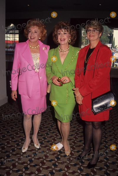 Audrey Meadows Photo - Audrey Meadows Geraldine Laybourne Jayne Meadows 1992 L3990 Photo by Michael Ferguson-Globe Photos Inc