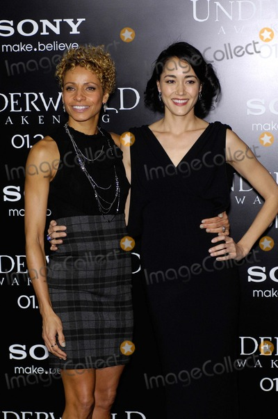 Michelle Hurd Photo - Michelle Hurd and Sandrine Holt During the Premiere of the New Movie From Screen Gems Underworld Awakening Held at Graumans Chinese Theatre on January 19 2012 in Los Angeles Photo Michael Germana - Globe Photos Inc