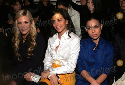 Ally Hilfiger Photo - Front Row at the Tommy Hilfiger Fashion Show at Avery Fisher Hall Lincoln Center 02-07-2998 Photos by Rick Mackler Rangefinder-Globe Photos Inc2008 Tinsley Mortimer (on Left) and Ally Hilfiger (on Right)